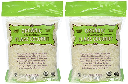 2-Bags-of-Trader-Joes-Organic-Unsweetened-Flake-Coconut-0-0