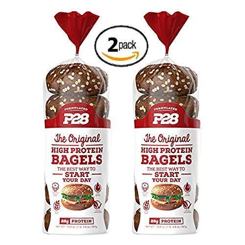 2-Pack-Value-of-P28-High-Protein-Bagel-100-Natural-12-bagels-total-Includes-7-Day-Clean-EatingHigh-Protein-Meal-Plan-E-Book-0