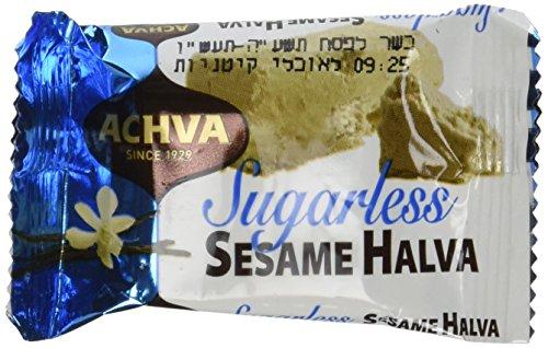 Achva-Sugar-Free-SESAME-Halva-Snack-Kosher-Mini-Bars-2-Packs-11-Snacks-NW-97oz-each-pack-0-0