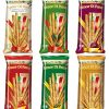 Amor-Di-Pane-Italian-Breadsticks-Six-Flavours-Classic-Green-Olives-Onion-Pizza-Rosemary-Sesame-44-Ounce-125g-Packages-Pack-of-1-Each-Italian-Import-0