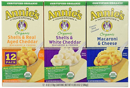 Annies-Homegrown-Organic-Variety-Macaroni-and-Cheese-12-count-4Pounds-8oz-0
