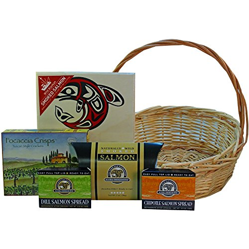 Art-of-Appreciation-Gift-Baskets-Classic-Smoked-Salmon-Seafood-Basket-0-0