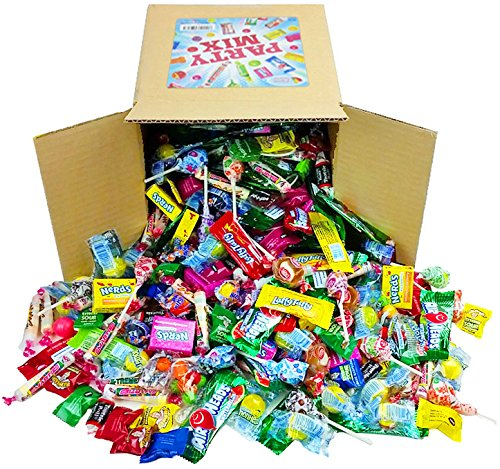 Assorted-Candy-Party-Mix-Appx-4-LB-Bulk-Fire-Balls-Airheads-Jawbusters-Laffy-Taffys-Tootsie-Rolls-and-Much-More-of-Your-Favorite-Candy-0