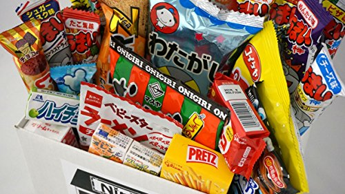 Assorted-Japanese-Junk-Food-Snacks-Dagashi-30pcs-Ninjapo-Package-Sweets-Candy-0-0