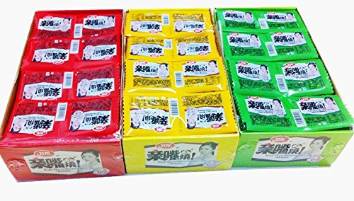 Assorted-Three-Flavors-Qin-Zui-Shao-Spicy-Slice-30-PacksWEI-LONG-Latiao-0-1