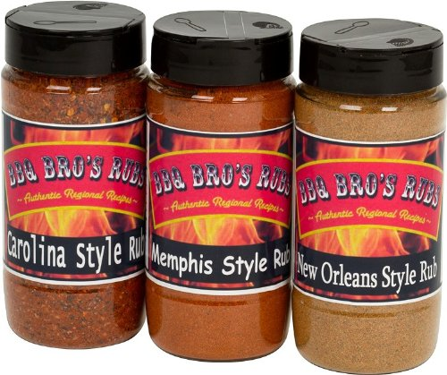 BBQ-BROS-RUBS-Southern-Style-Ultimate-Barbecue-Spices-Seasoning-Set-Use-for-Grilling-Cooking-Smoking-Meat-Rub-Dry-Marinade-Rib-Rub-Backed-with-100-Customer-Guarantee-0