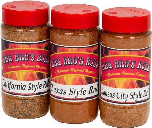 BBQ-BROS-RUBS-Western-Style-Ultimate-Barbecue-Spices-Seasoning-Set-Use-for-Grilling-Cooking-Smoking-Meat-Rub-Dry-Marinade-Rib-Rub-Backed-with-100-Customer-Guarantee-0