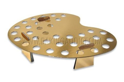 Baking-Addict-35-Hole-Cardboard-Palette-Holder-Rack-Display-Stand-for-Mini-Ice-Cream-Cones-Gold-0