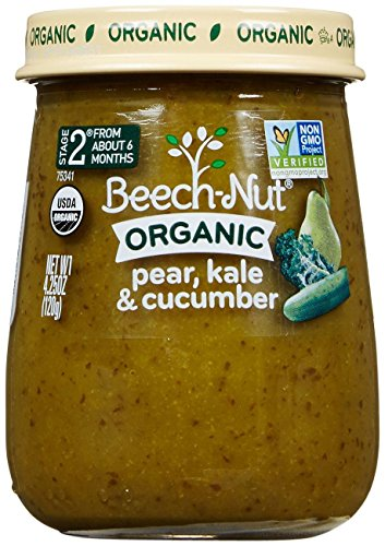 Beech-Nut-Just-Organic-Stage-2-Purees-Pear-Kale-Cucumber-425-Oz-10-pk-0