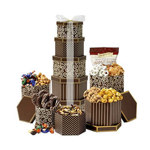 Broadway-Basketeers-Celebration-Gift-Tower-with-Sweets-Nuts-0