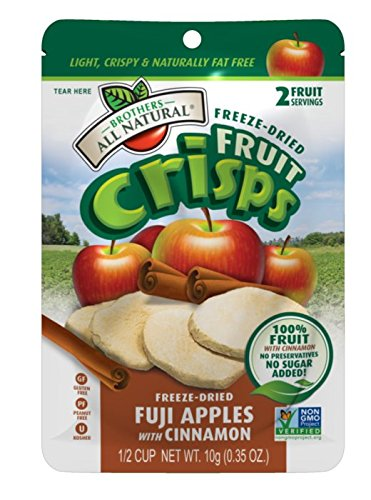 Brothers-ALL-Natural-Fruit-Crisps-Fuji-Apple-Cinnamon-035-Ounce-Pack-of-24-0