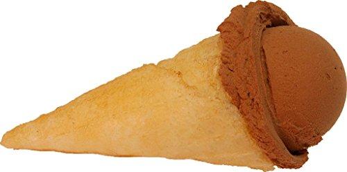 Chocolate-Scoop-Fake-Ice-Cream-Waffle-Cone-0
