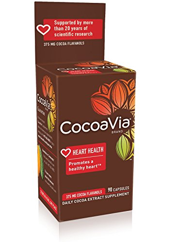 CocoaVia-Vegetarian-Capsules-90-Count-Bottle-0