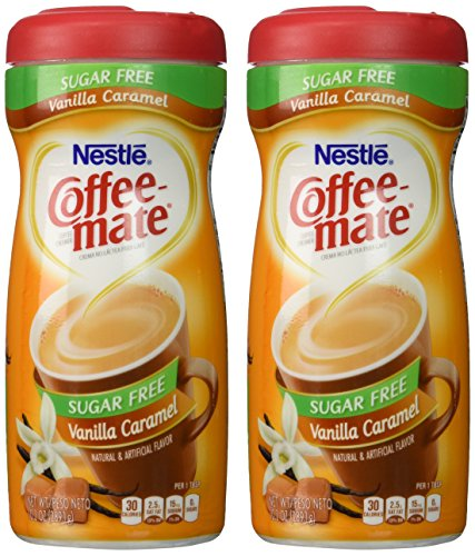 Coffee-Mate-Vanilla-Caramel-Sugar-Free-Powder-Creamer-102oz-Canister-Pack-of-2-0