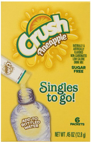 Crush-Singles-to-Go-Drink-Mix-Pineapple-6-Count-Pack-of-12-0