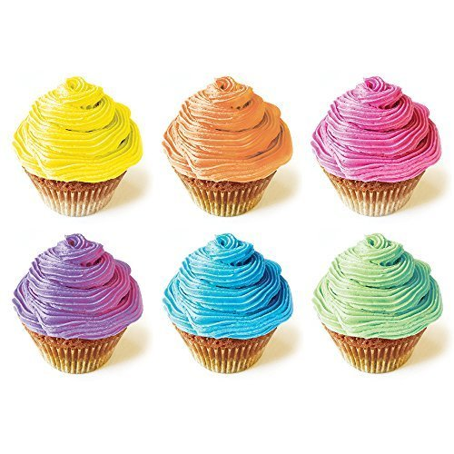 Cupcake-Coloring-Set-PINK-YELLOW-and-BLUE-All-Natural-Vegan-Non-GMO-0-0