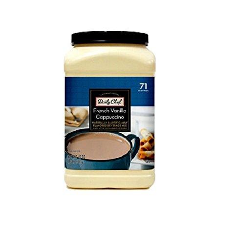 Daily-Chef-French-Vanilla-Cappuccino-Beverage-Mix-23lb-0