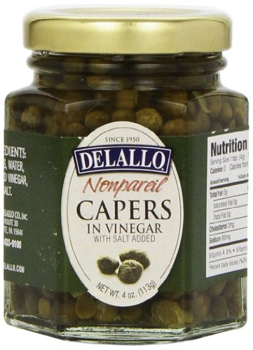 DeLallo-Non-Pareil-Capers-4-Ounce-Glass-Jar-Pack-of-4-0