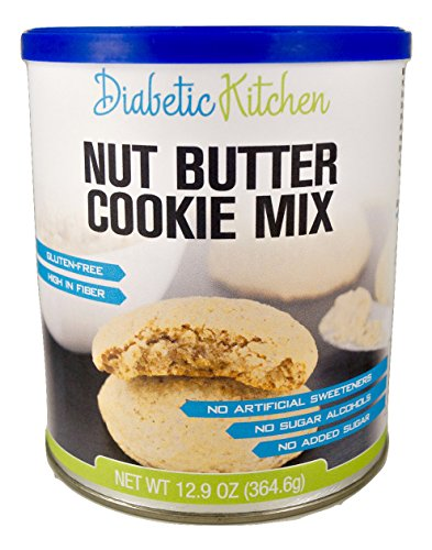 Diabetic-Kitchen-Nut-Butter-Cookie-Mix-Makes-The-Moistest-Chewiest-No-Guilt-Cookies-Ever–Gluten-Free-High-Fiber-Low-Carb-No-Artificial-Sweeteners-or-Sugar-Alcohols-Makes-60-Cookies-0