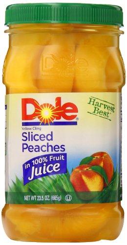 Dole-Sliced-Peaches-235-Ounce-Jars-Pack-of-8-0