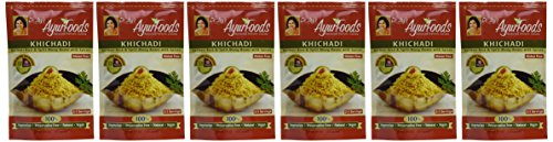 Dr-Jays-Ayurfoods-Khichadi-6-Pack-Premium-Blend-of-Basmati-Rice-Mung-Bean-and-Spices-including-Turmeric-FREE-of-Preservatives-BEST-All-Natural-Ingredients-Vegan-Vegetarian-Gluten-Free-Ayurvedic-Ready–0-0