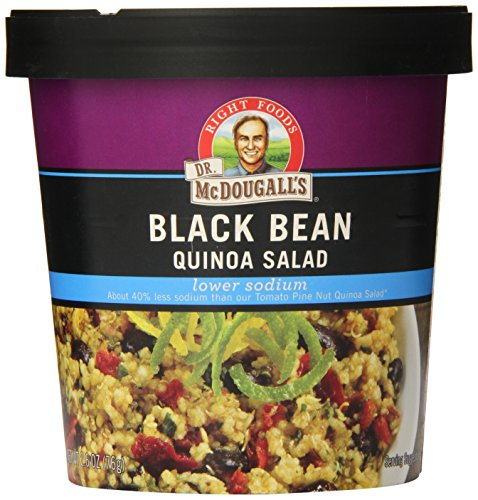 Dr-McDougalls-Right-Foods-Lower-Sodium-Bean-Quinoa-Salad-Black-26-Ounce-Pack-of-6-0