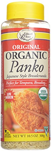 Edward-Sons-Organic-Panko-Japanese-Style-Breadcrumbs-105-Ounce-Canisters-Pack-of-6-0