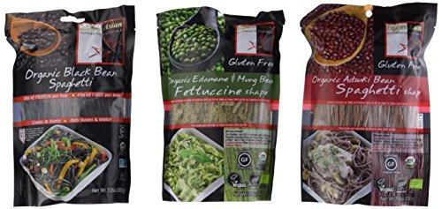 Explore-Asian-Organic-Gluten-Free-Pasta-3-Flavor-Variety-Bundle-1-Organic-Black-Bean-Spaghetti-1-Organic-Edamame-Mung-Bean-Fettucine-and-1-Organic-Adzuki-Bean-Spaghetti-705-Oz-Ea-0