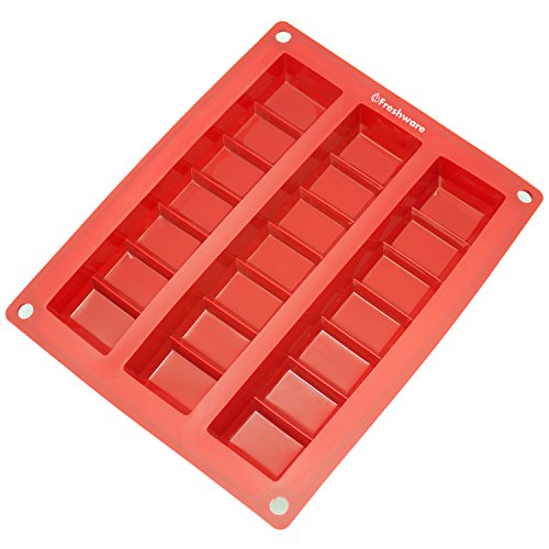 Freshware-CB-800RD-3-Cavity-Zig-Zag-Silicone-Mold-for-Making-Break-Apart-Chocolate-0-0