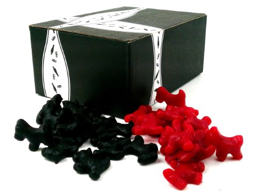 Gimbals-Licorice-Scottie-Dogs-2-Flavor-Variety-One-1-lb-Bag-Each-of-Black-and-Red-in-a-BlackTie-Box-2-Items-Total-0