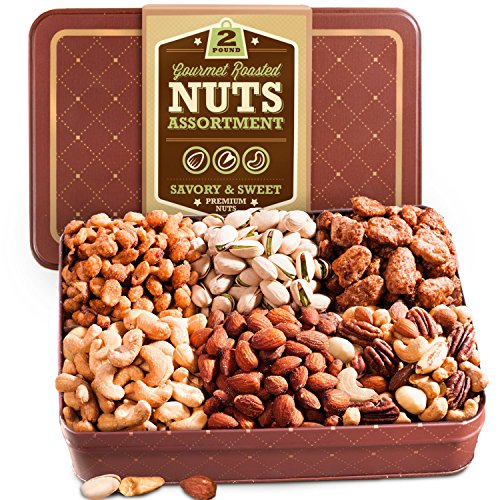 Golden-State-Fruit-Two-Pound-Roasted-Nuts-Gift-Tin-0