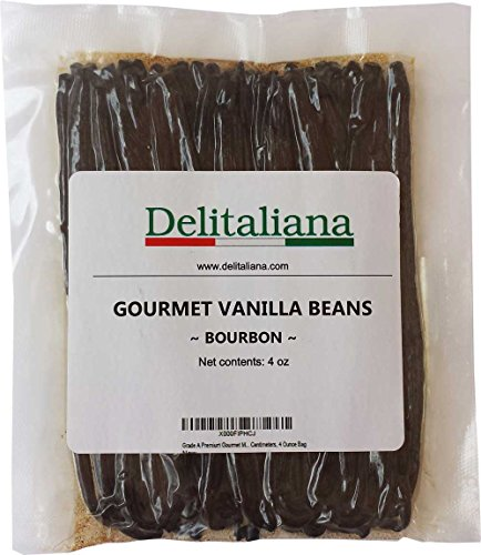 Grade-A-Premium-Gourmet-Bourbon-Vanilla-Beans-Fresh-Prime-Approximatelly-17-Centimeters-4-Ounce-Bag-0