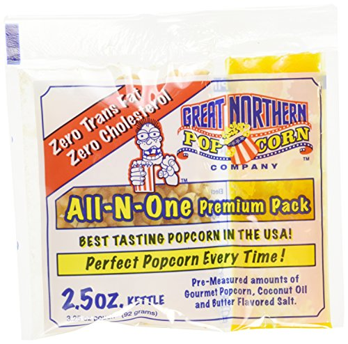 Great-Northern-4099-GAP-25-OZ-POPCORN-Case-24-of-Two-and-a-Half-Ounce-Portion-Packs-0