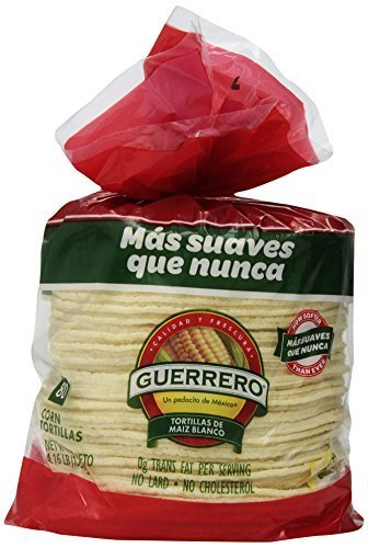 Guerrero-6-Inch-White-Corn-Tortillas-80-ct-458-lb-by-Mission-Foods-0