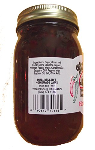 HUGE-18-oz-Hot-Pepper-Jelly-Sweet-Spicy-Amish-and-Homemade-Great-Marinade-0-1