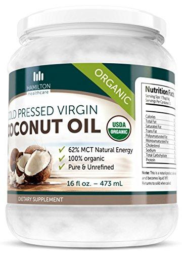 Hamilton-Healthcare-Organic-Extra-Virgin-Cold-Pressed-Coconut-Oil-Pure-Unrefined-16-Ounce-1-lb-0-0