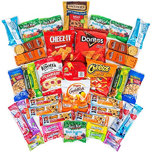Hangry-Kit-Sweet-Salty-Snack-Sampler-Care-Package-Gift-Pack-Variety-of-40-Chips-Candies-Cookies-Included-100-Money-Back-Guarantee-0
