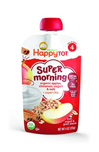 Happy-Tot-Organics-Super-Morning-Apple-Cinnamon-Yogurt-Oats-Super-Chia-4-oz-Pack-of-8-0-0