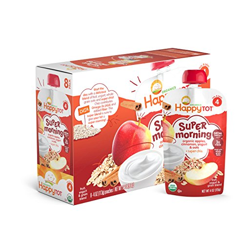 Happy-Tot-Organics-Super-Morning-Apple-Cinnamon-Yogurt-Oats-Super-Chia-4-oz-Pack-of-8-0