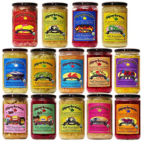 Healing-SAUERKRAUT-for-Digestive-Support-Organic-Kosher-Raw-Fermented-Unpasteurized-Probiotic-Free-Shipping-wMinimum-15-Flavors-available-24-floz-incl-brine-0-1