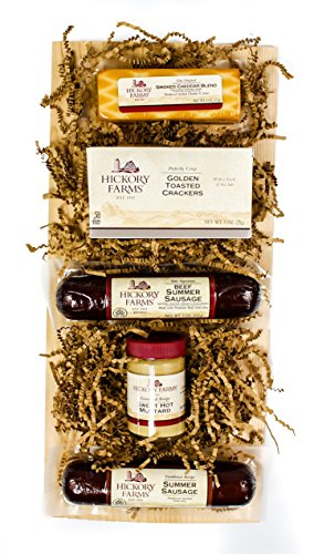 Hickory-Farms-Signature-Beef-Sausage-Cheese-Gift-Basket-0