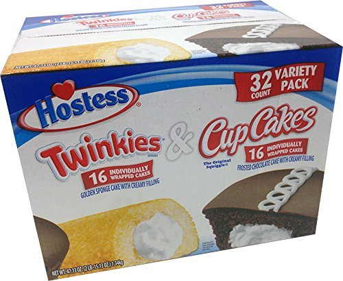 Hostess-Twinkies-Cupcakes-16-Individually-Each-Total-32-Wrapped-Cakes-0