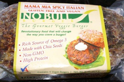 ITALIAN-VEGGIE-BURGERS-6-4-PACKS-Organic-Gluten-Free-Vegan-Veggie-Burgers-Cooked-Fresh-Ships-Frozen-24-TOTAL-Just-Heat-Serve-0