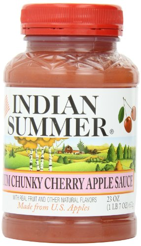 Indian-Summer-Chunky-Cherry-Applesauce-23-Ounces-Pack-of-6-0
