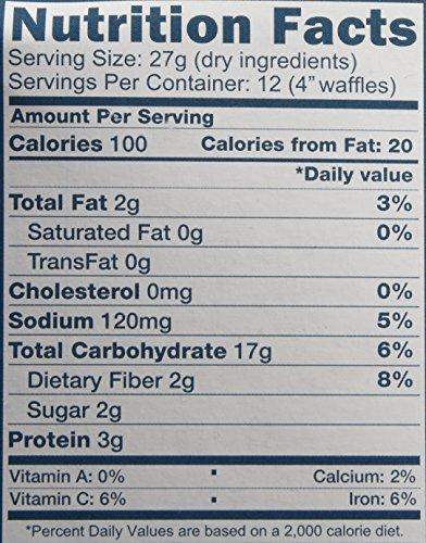 Kims-Simple-Meals-Golden-Waffle-Mix-One-114-oz-Box-Organic-Gluten-Free-Vegan-Non-GMO-Kosher-0-0