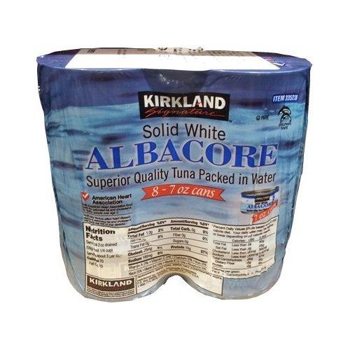 Kirkland-Signature-Albacore-tuna-198gX8-cans-0-0