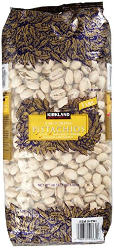 Kirkland-Signature-California-Dry-Roasted-Salted-In-Shell-Pistachio-48-Ounce-0