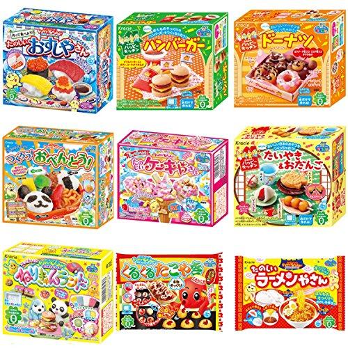 Kracie-Popin-Cookin-9-Item-Bundle-with-Sushi-Hamburger-Bento-Takoyaki-Cake-Shop-and-More-0