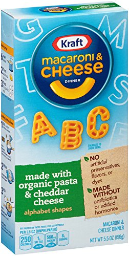 Kraft-Mac-Cheese-Dinner-Made-with-Organic-Pasta-Cheese-55-Ounce-Pack-of-12-0
