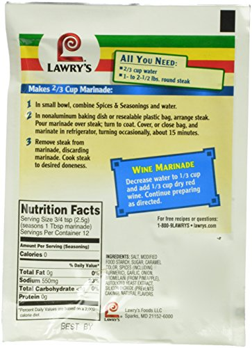 Lawrys-Tenderizing-Beef-Marinade-Spices-Seasonings-106-Ounce-Packets-Pack-of-24-0-1